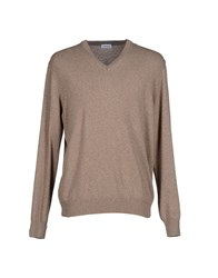 Andrea Fenzi Knitwear Jumpers Men Pastel Blue