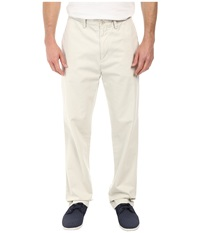 Classic Flat Front Pants Nautica Stone Men's Casual Pants White
