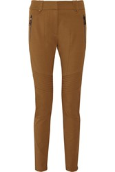 Belstaff Paley Stretch Twill Skinny Pants Brown
