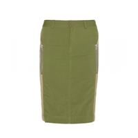 Marc By Marc Jacobs Army Skirt New Fatigue Green Multi