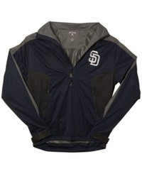 Antigua Men's San Diego Padres Discover Half Zip Jacket