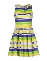 Aimo Richly Dresses Short Dresses Women Yellow