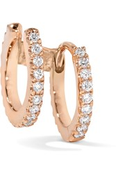 Maria Tash 18 Karat Rose Gold Diamond Ear Cuff