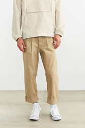 Cpo Charles Pleated Pant Light Brown