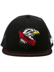 Philipp Plein 'Gonna Be Ok' Baseball Cap Black