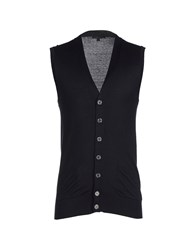 Brian Dales Knitwear Cardigans Men Dark Blue