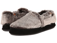 Acorn Moc Chinchilla Women's Moccasin Shoes Gray