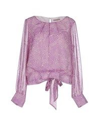 Darling Shirts Blouses Women Mauve