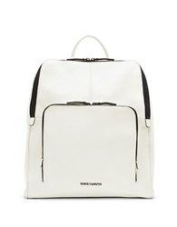 Vince Camuto Ezra Leather Backpack White
