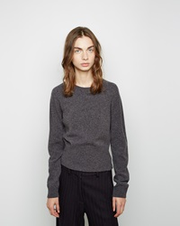 Jil Sander Cashmere Blend Crewneck Sweater Dark Green