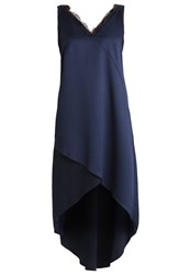Wallis Summer Dress Navy Dark Blue