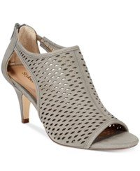 Styleandco. Style And Co. Haddiee Ankle Booties Only At Macy's Women's Shoes Grey