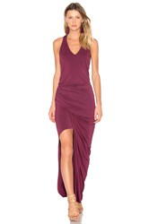 Young Fabulous And Broke Rena Maxi Dress Burgundy
