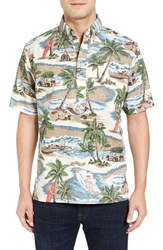 Reyn Spooner Men's Hawaiian Christmas Pullover Sport Shirt