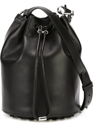 Alexander Wang Drawstring Bucket Crossbody Bag Black