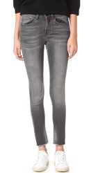 Etienne Marcel Released Hem Skinny Jeans Grey