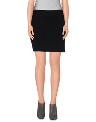 Jil Sander Mini Skirts Black