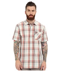 Rip Curl Floyd Long Sleeve Flannel Stone Men's Clothing White