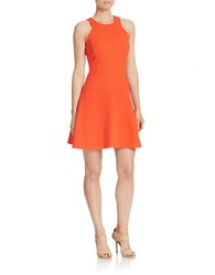 4 Collective Drop Waist Fit And Flare Dress Bright Red