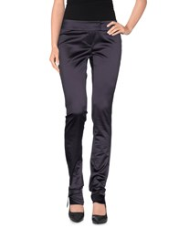 Richmond Trousers Casual Trousers Women Dark Purple