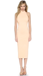 Torn By Ronny Kobo Thiadora Ponte Midi Dress