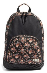 Volcom 'Leaf Me Alone' Floral Print Backpack