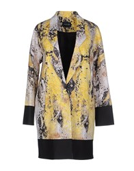Guess By Marciano Coats And Jackets Full Length Jackets Women Yellow