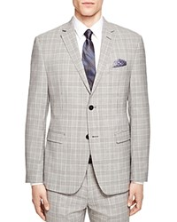 Original Penguin Plaid Slim Fit Blazer Compare At 375 Black White