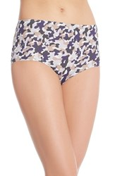 Women's Spanx Perforated Hipster Briefs Spring Camo