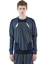 Adidas By Kolor Climachill Hybrid Long Sleeved Top Grey