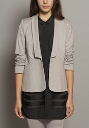 Al Alicia Online Shop Lean Mean Blazer Smoked Pearl
