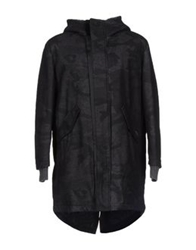 Ice Iceberg Coats Steel Grey