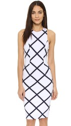 Finders Keepers Better Together Dress White Check
