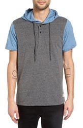 Ezekiel Men's 'Hyland' Hooded Colorblock Henley
