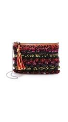 M Missoni Raffia Cross Body Bag Multi