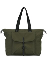 Ally Capellino 'Teddy' Overnight Bag Green