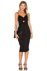 Karina Grimaldi Noah Solid Dress Black