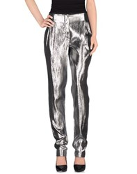 Lanvin Trousers Casual Trousers Women Silver