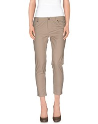 Burberry Brit Trousers 3 4 Length Trousers Women Beige