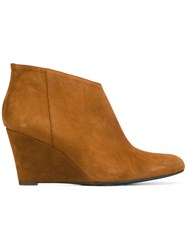 Danielapi High Ankle Boots Brown