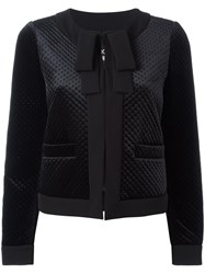 Boutique Moschino Cropped Jacket Black