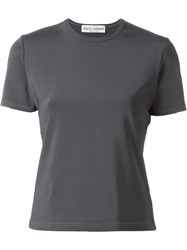 Dolce And Gabbana Vintage Fitted T Shirt Grey