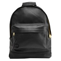 Mi Pac Gold Tumbled Backpack Black
