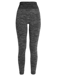 Pepper And Mayne Seamless Compression Performance Leggings Grey