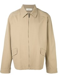 Romeo Gigli Vintage Zipped Jacket Nude And Neutrals