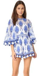 Alice Mccall Young Hearts Run Free Playsuit Blue