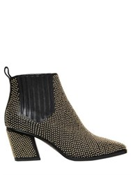 Roger Vivier 65Mm Skyscraper Studded Leather Boots