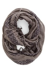 Women's Bp. Geo Embroidery Infinity Scarf