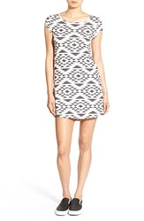 Rip Curl Women's 'Desert Nights' Print T Shirt Dress