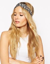 Asos Daisy Hair Turban Headband Multi
